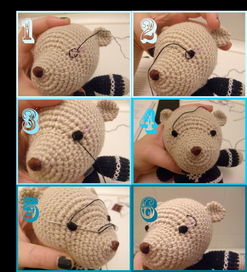 Imagen7   amigurumi   Pinterest   Häkeln lernen, Namenskette und Bären