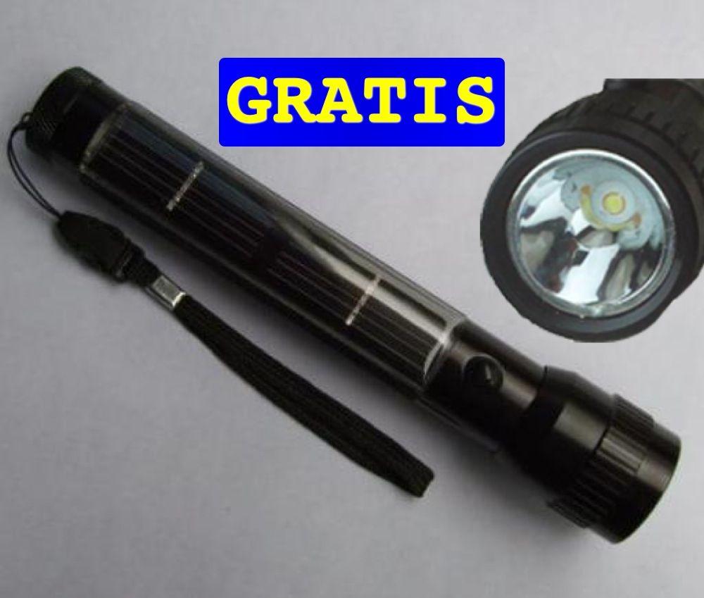Con cada pedido se obtiene una luz flash GRATIS que funciona con energia solar. http://santo-domingo.weebly.com/