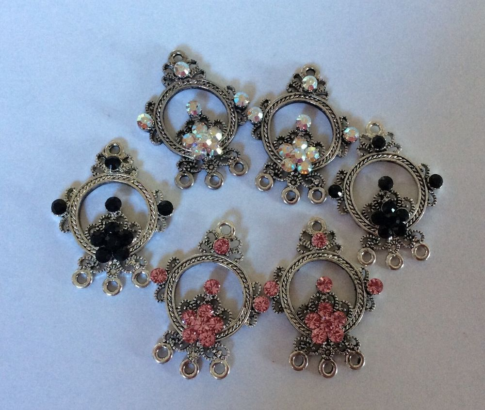Jewelry findings chandelier earring findings connectors rhinestone jewelry findings chandelier earring findings connectors rhinestone pure allure pureallure arubaitofo Image collections