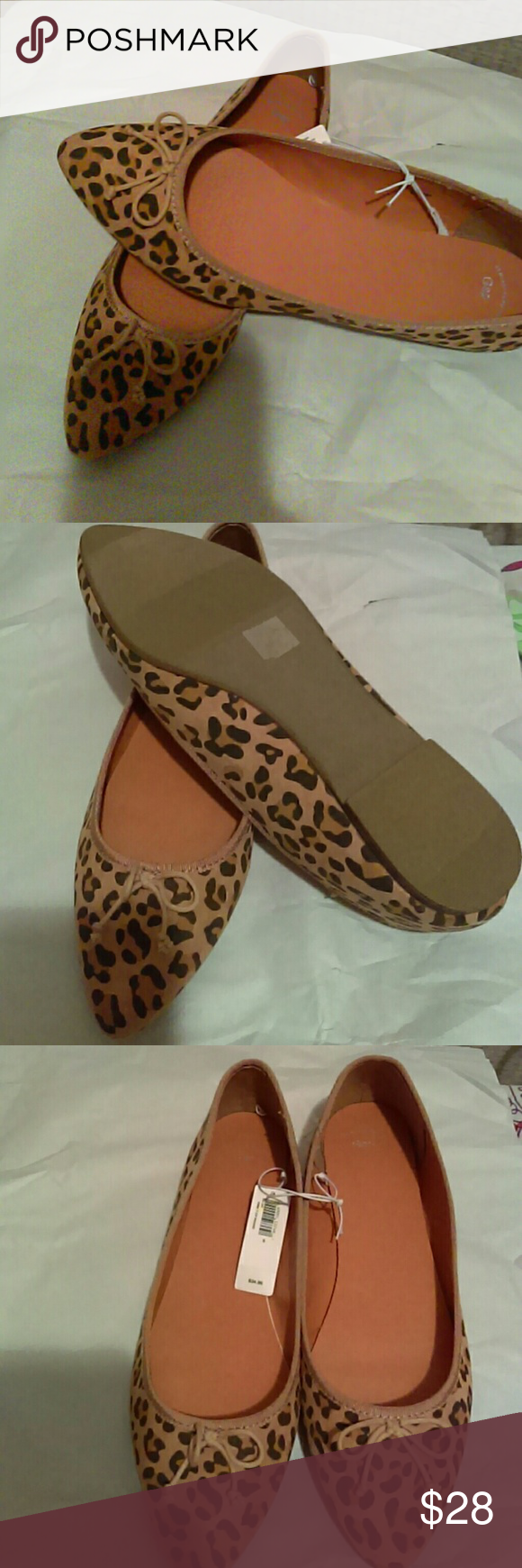 Ladies Gap Leopard Flats Size 9 leopard flats from the gap. Brand new still with tags on. Pet free / smoke free home they come from. GAP Shoes Flats & Loafers