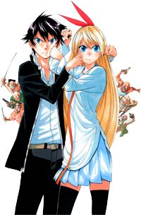 I Love Nisekoi And I Totally And Without A Doubt Ship Chitoge Kirisaki X Raku Ichijou Nisekoi Chitoge Nisekoi Nisekoi Manga