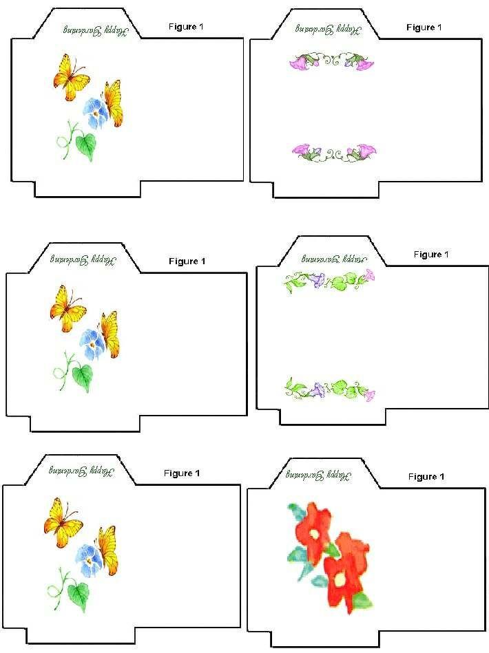 Sachets De Graines A Imprimer Le Blog Des Dames Sachets De Graines Signets Faits A La Main Enveloppe Diy