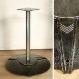 Metal Pedestal Table Base Art Deco Styling