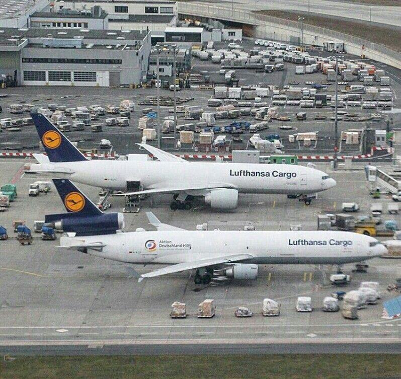 Lufthansa's cargo fleet Aviao, Fotos