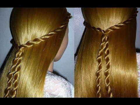 Einfache Frisur Für Kinderhaare Flechtfrisur Schule Alltag Twist