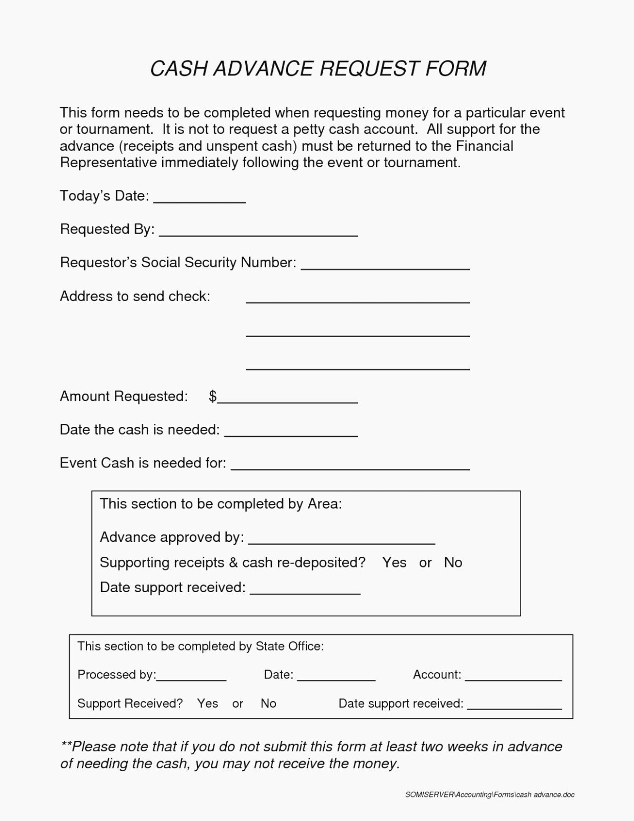 Travel Advance Request Form Template Beautiful 96 Cash Advance Request Form Travel Authorization For In 2020 Financial Plan Template Templates Credit Card Cash Advance