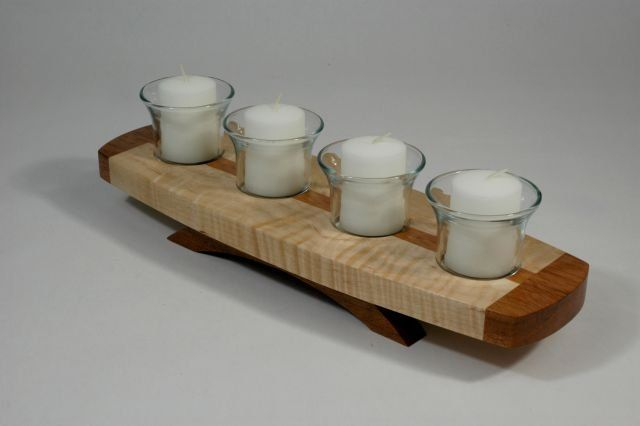 Candle Holders 2nd Try - by closetguy @ LumberJocks.com ~ woodworking community
