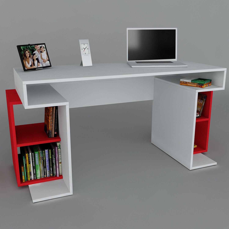 Asir Group LLC 731WAT3821 Wooden Art, Studie Schreibtisch: Amazon.de ...