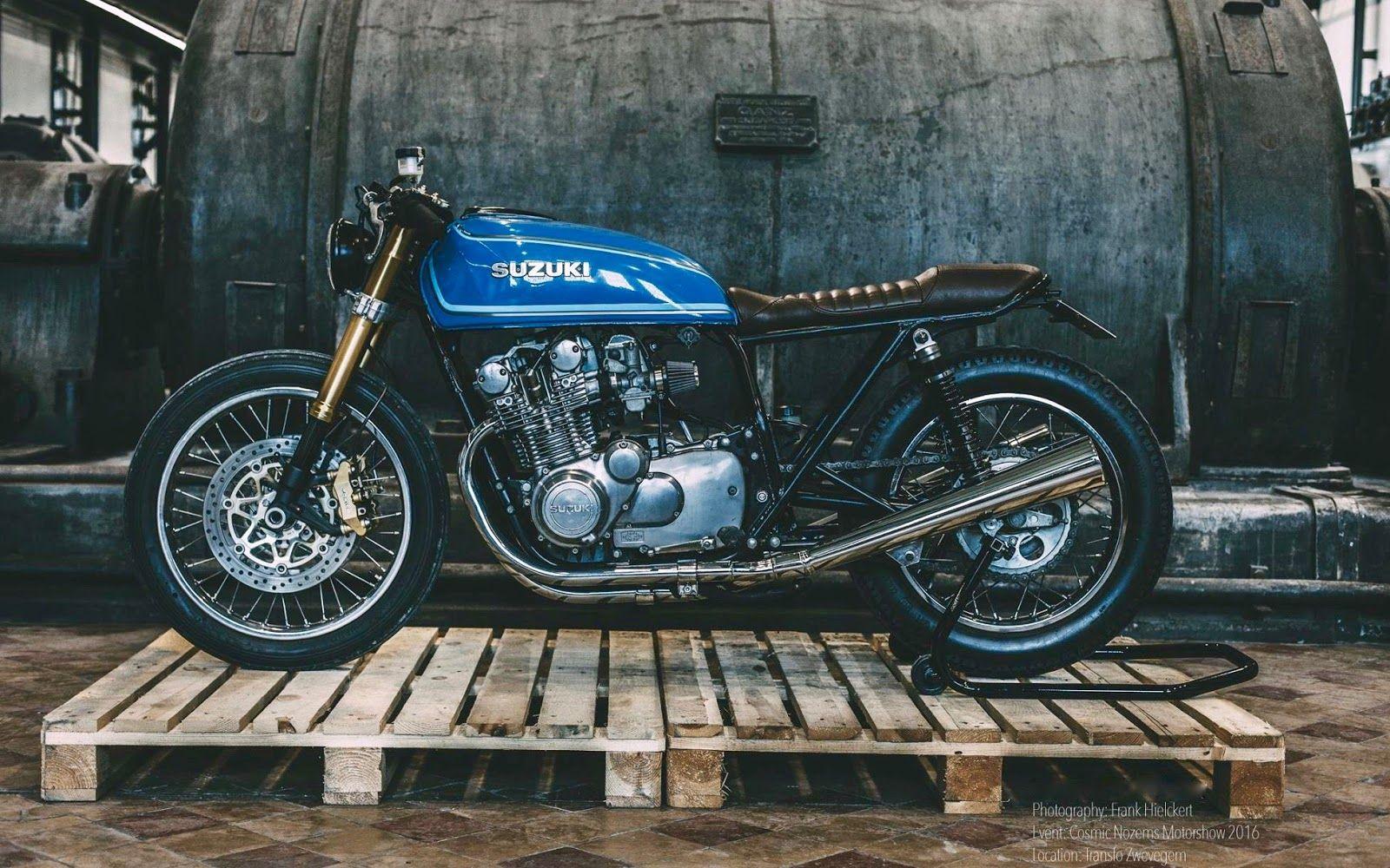 Suzy Gs Cafe Racer Tracker Motorcycle Cafe Racer Build Suzuki Cafe Racer [ 1000 x 1600 Pixel ]