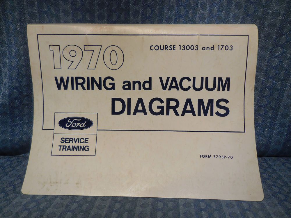 Fine 1970 Ford Lincoln Mercury Truck Oem Electrical Vacuum Diagrams Wiring Digital Resources Llinedefiancerspsorg