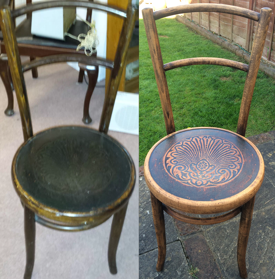 Fischel Thonet Upcycled Bentwood Chair For My Hallway