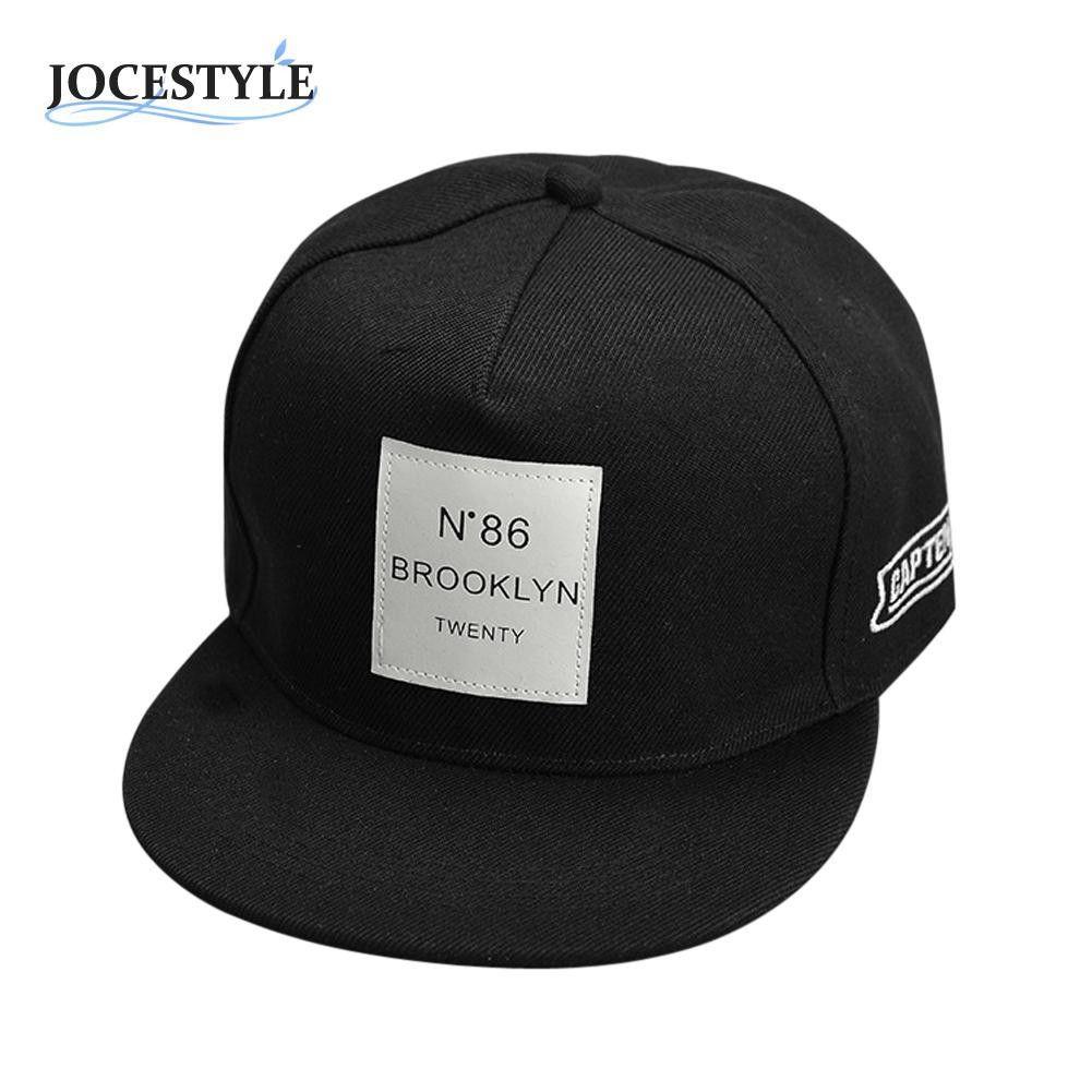 Men Women Blank Baseball Caps Plain Bboy Snapback Hats Hip-Hop Adjustable pU