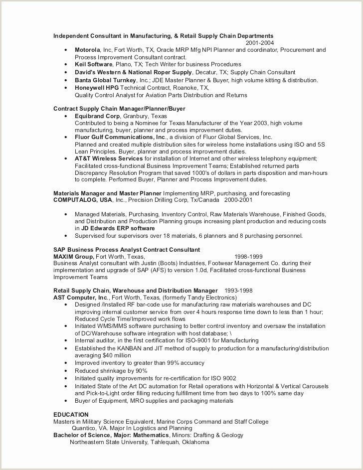 Resume format for Corporate Job