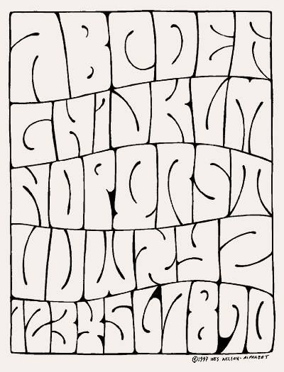 Psychedelic Alphabet By Wes Wilson Graffiti Font Graffiti Lettering Alphabet Graffiti Writing Graffiti