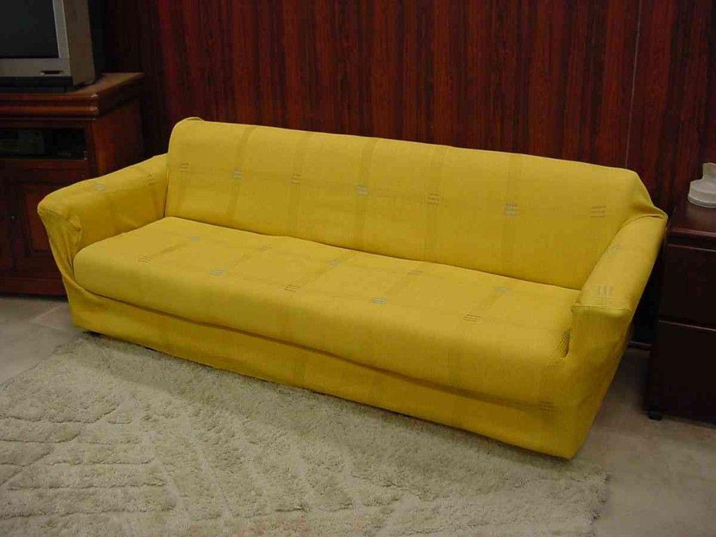Yellow Sofa Cover