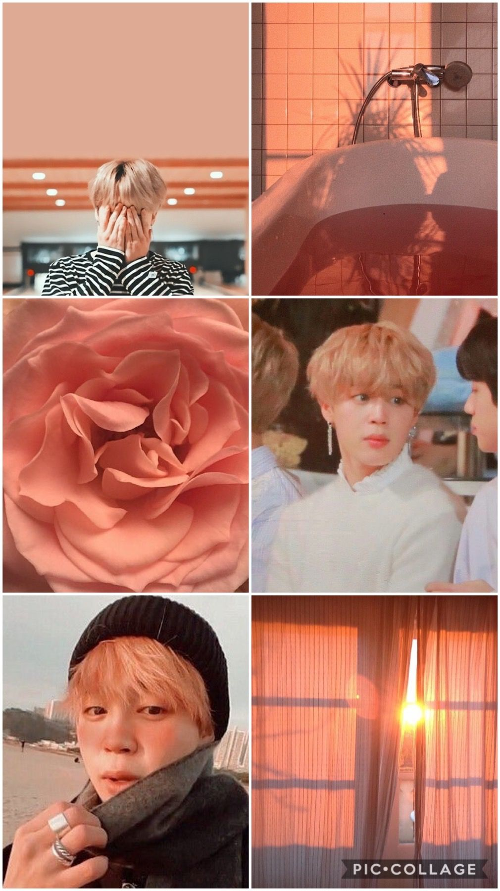 Jimin peach aesthetic Jimin wallpaper, Peach aesthetic