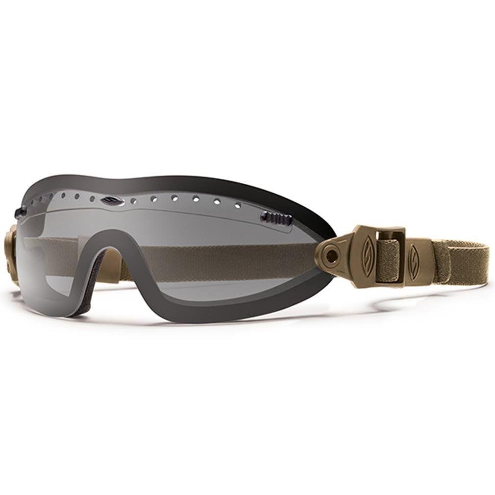 Amazon.com: Smith Optics Elite Boogie Sport Goggles, Gray, Tan 499 Strap: Sports & Outdoors