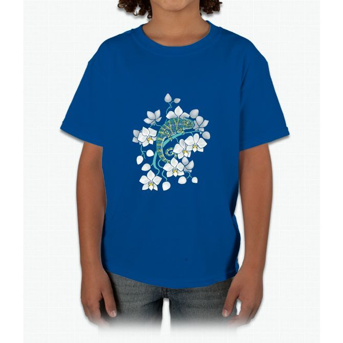 chameleons and orchids Young T-Shirt