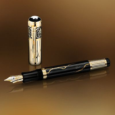 Montblanc Alexander The Great Fountain Pen Limited Edition 573 4810 Sealed Fountain Pen Fountain Pen Ink Parker Fountain Pen