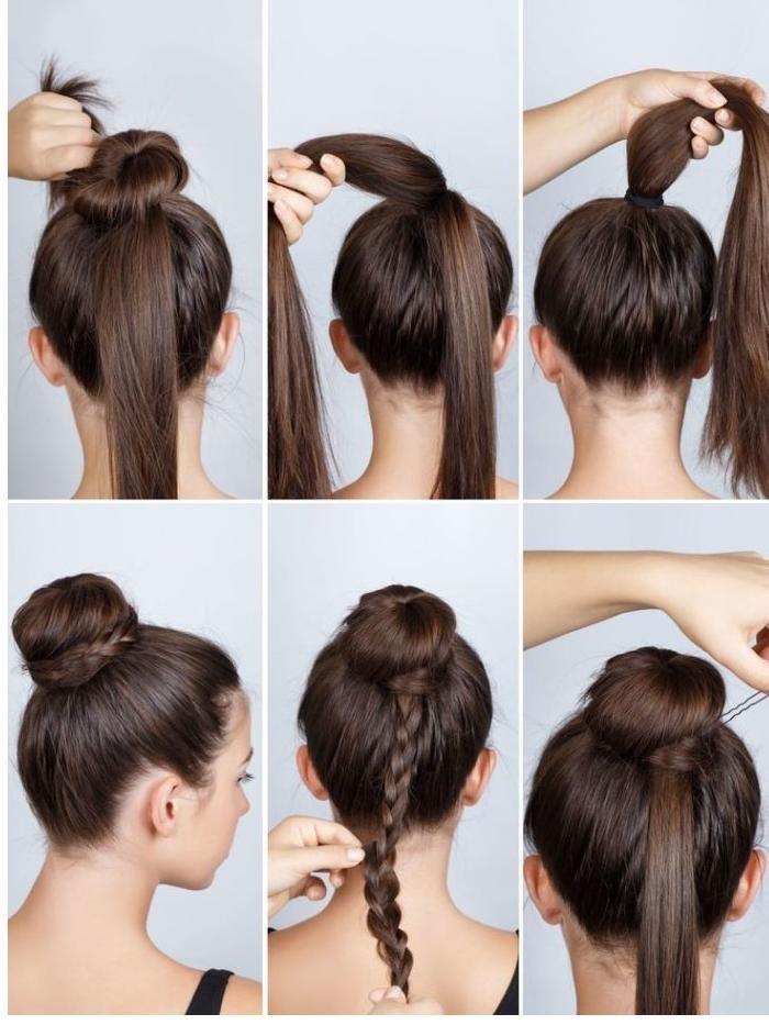 Einfache Frisuren Zum Selber Machen Har Pinterest Hair Hair