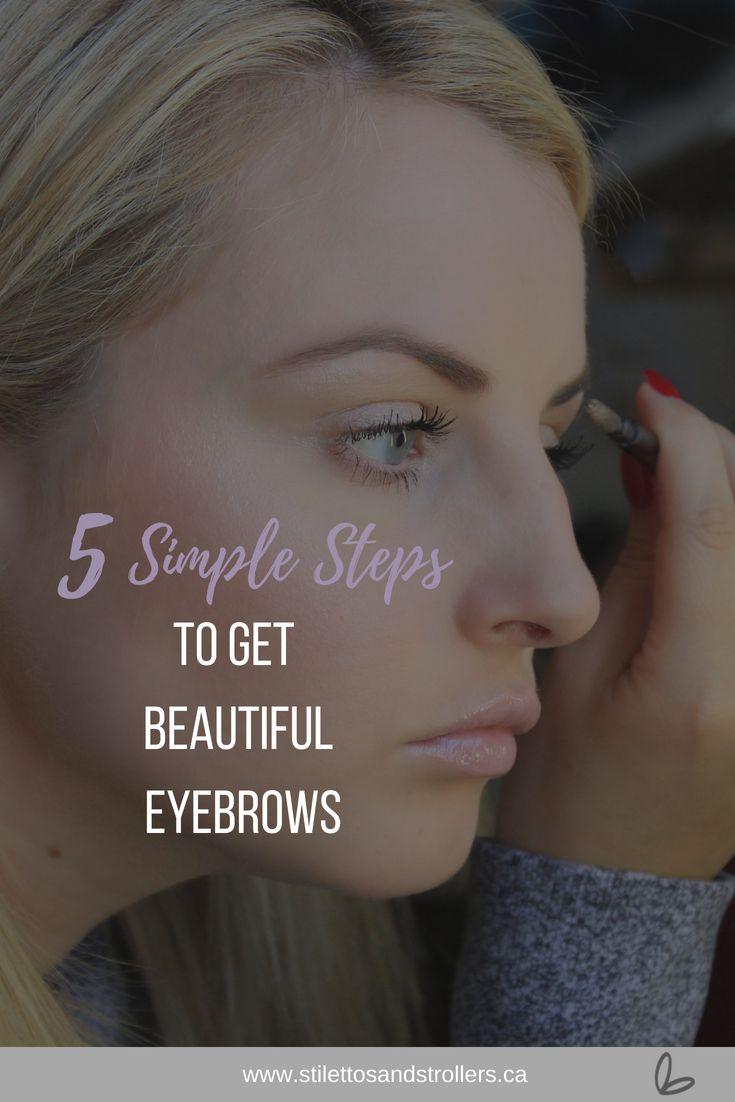 5 Simple Steps To Get Beautiful Eyebrows Waxing Eyebrows
