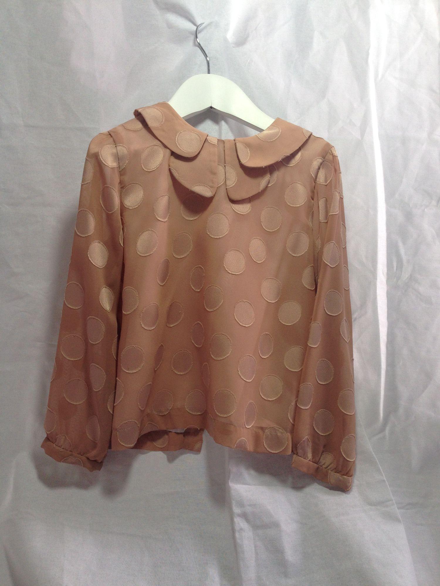 Hucklebones Pink Circle Pattern shirt — My Chelsea Wardrobe