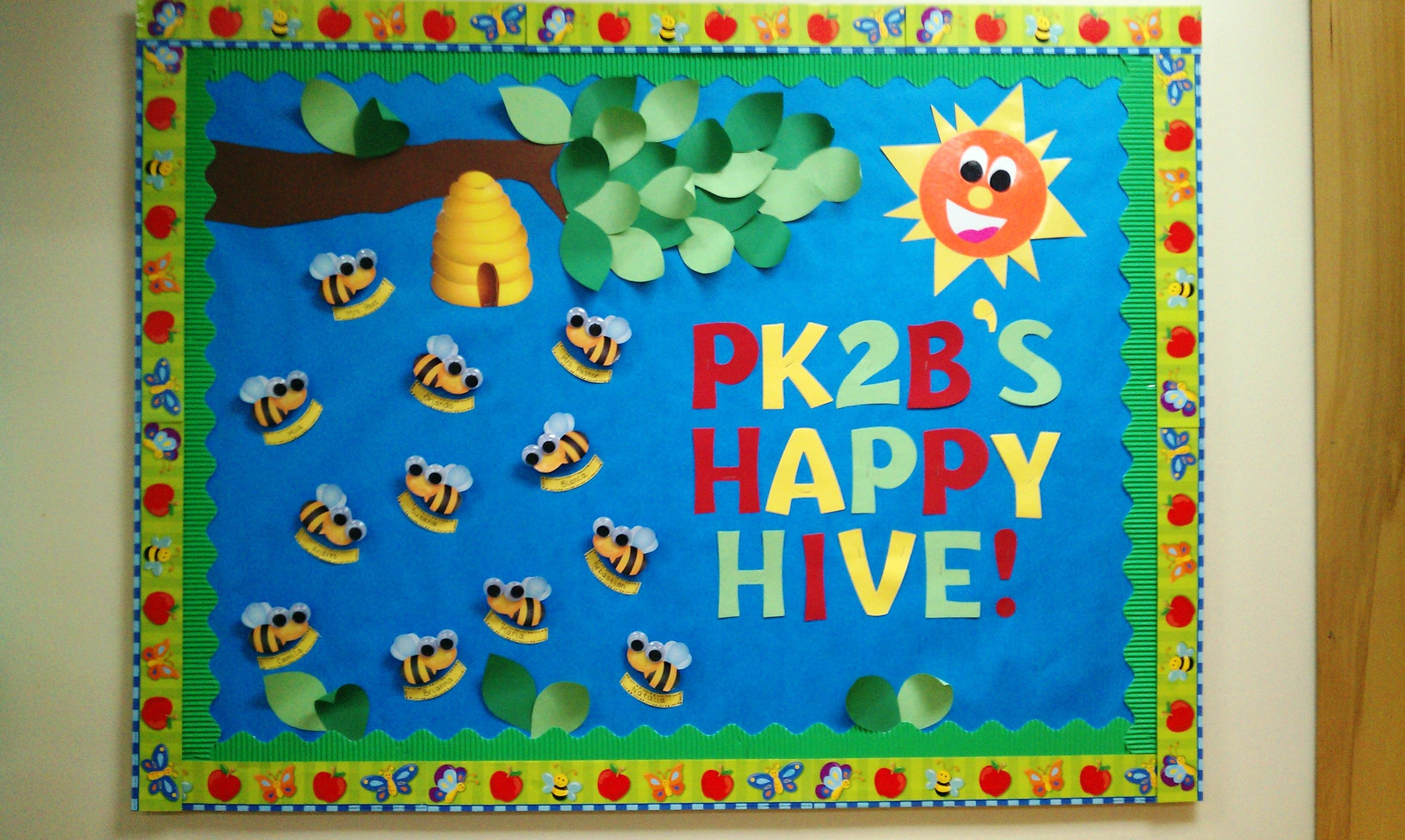Back To School Bulletin Board Bumble Bees