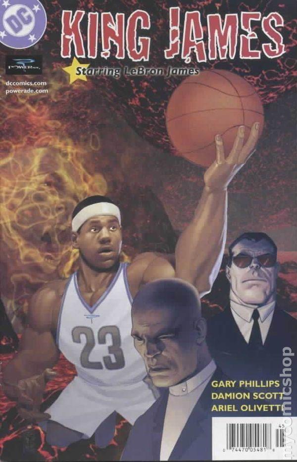 King James Starring LeBron James (2004) 1A