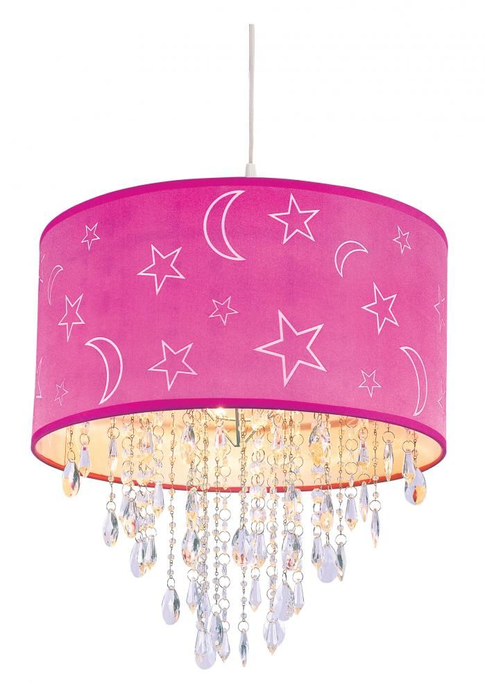 Pink Moon Stars Is Absolutely Perfect For Any Girls Room