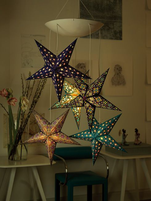 starlightz hanging display   earth friendly