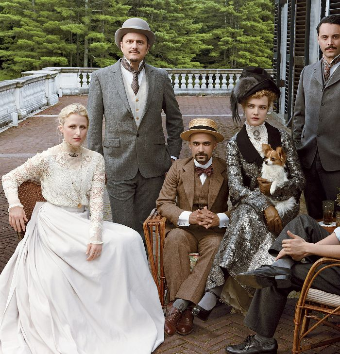 """Vogue US September 2012 """"The Custom of The Country"""" by Annie Leibovitz"""