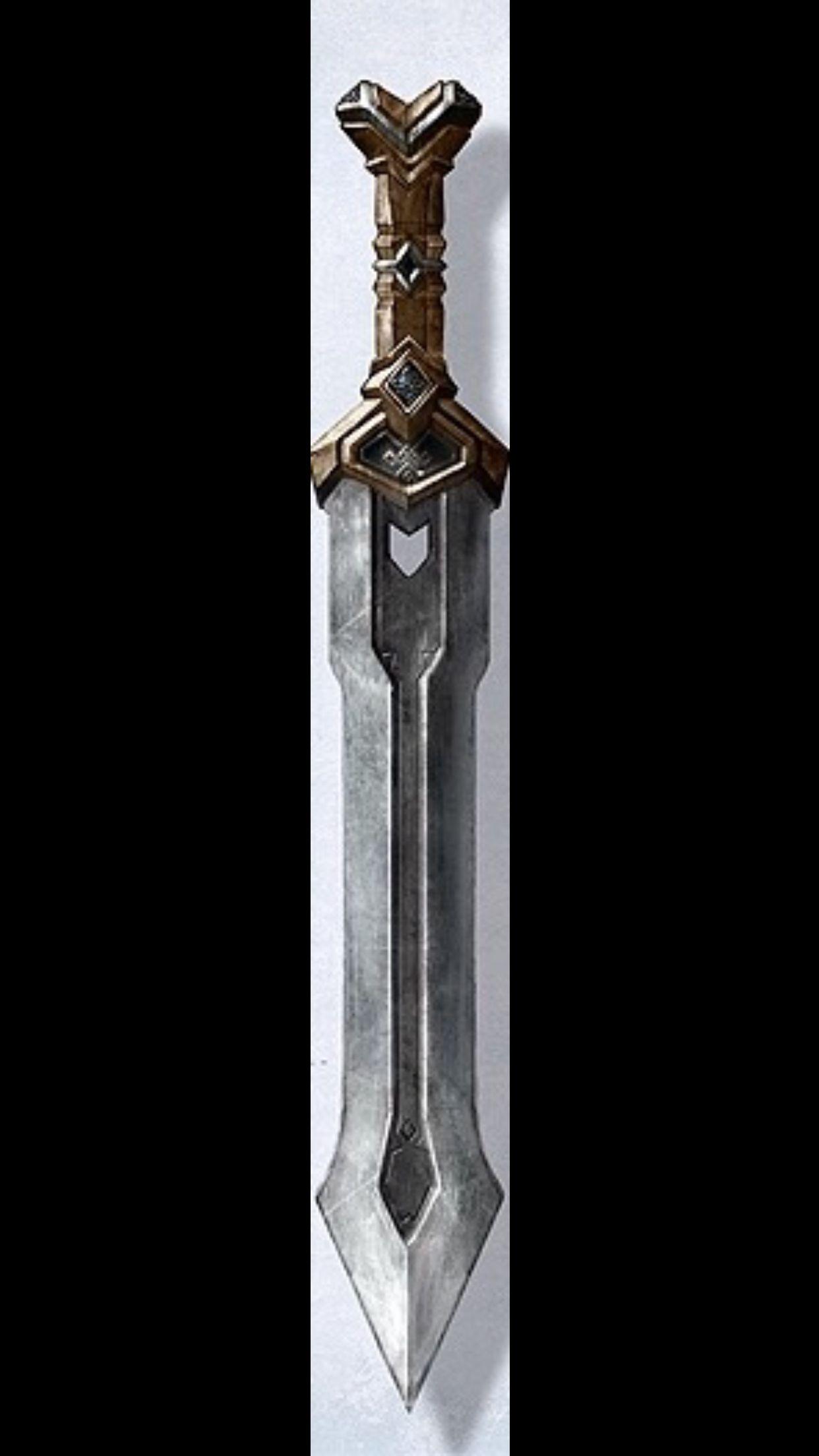 Dwarven Sword Dwarfs Pinterest Sword Hobbit Dwarves And Weapons