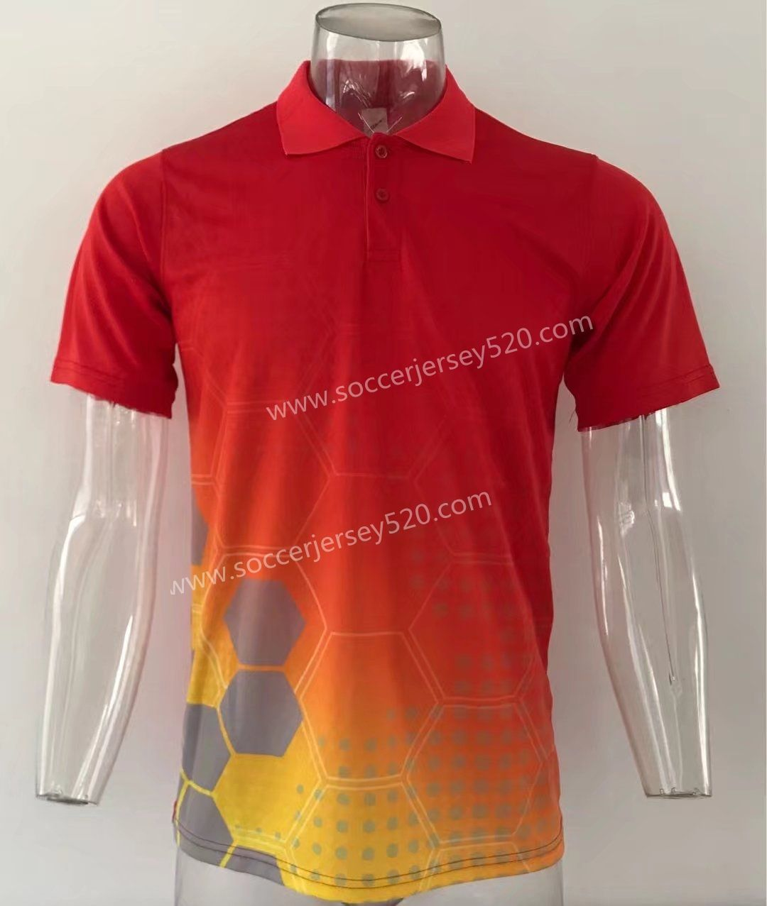 Thailand Polo Shirt Without Logo Red Top 1 Thailan Polo Shirt