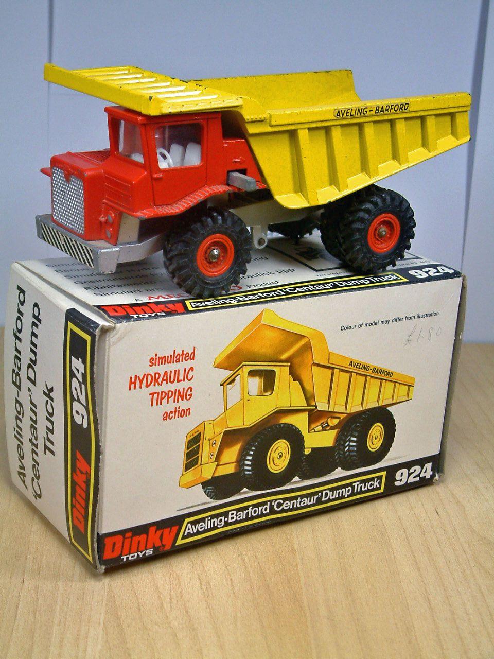 Dinky Aveling-barford 'centaur' Dump Truck. .924