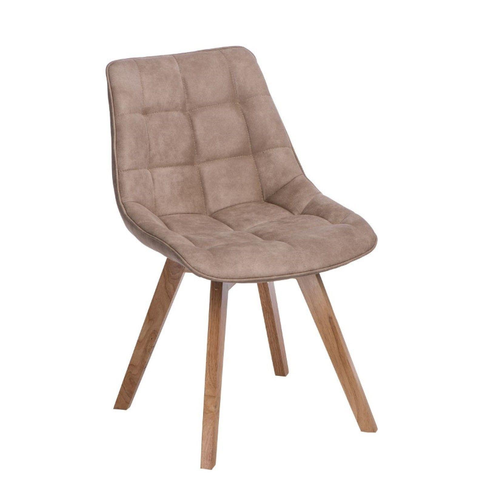 Woody kárpitozott szék bézs Woody szék rendkívül kényelmes