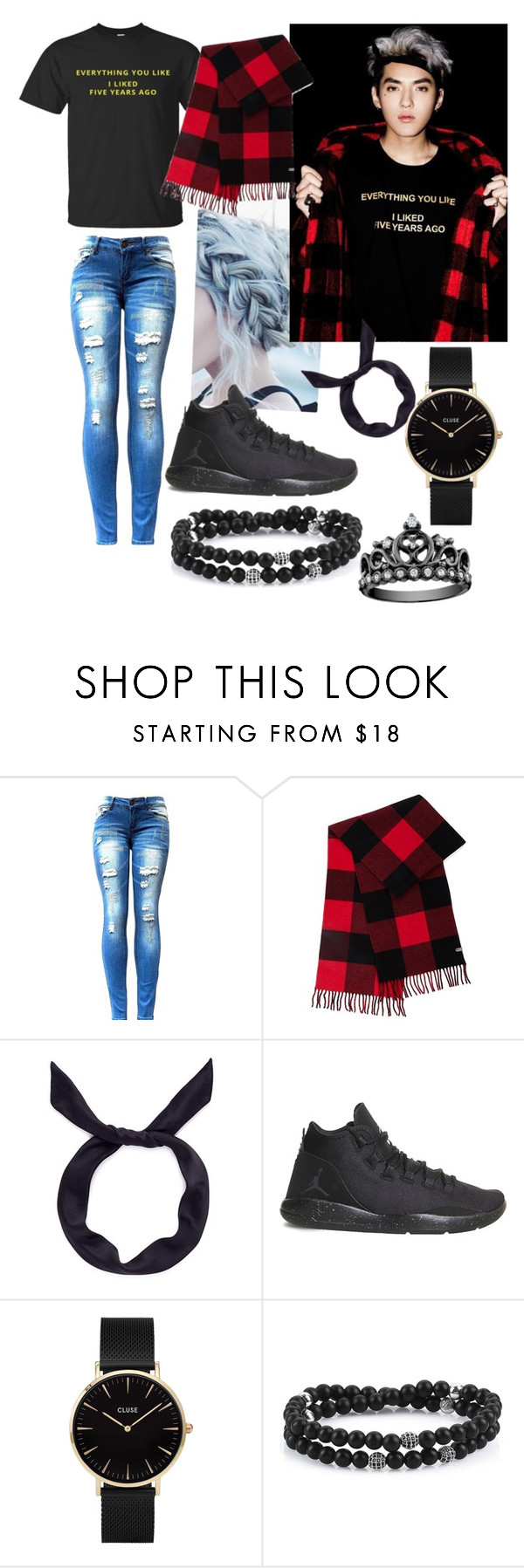 """""""Kris."""" by brib978 ❤ liked on Polyvore featuring Mackage, yunotme, NIKE and CLUSE"""