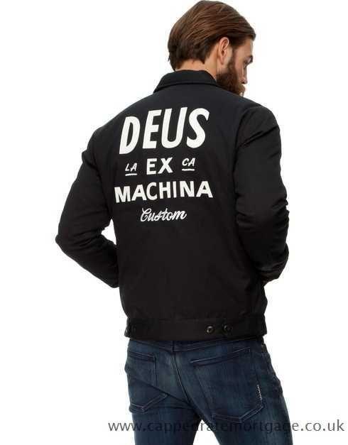 Deus Ex Machina - Workwear Jacket - Black - DE439AA20IUP - Men - Clothing -  Coats