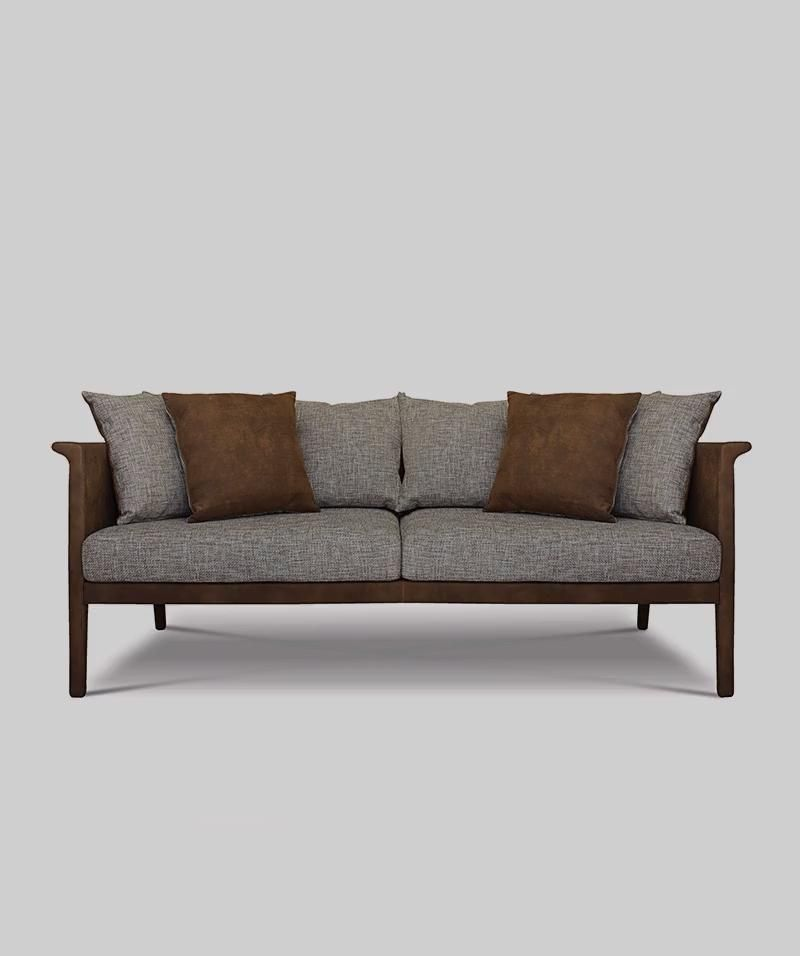 A compact sofa that features an enveloping back that extends its curve to form the armrest, with the inviting softness of its cushions this sofa provides the comfort and posture you need during reading and relaxing.  #interiordesign #interiordesigner #interiordecorating #interiorstyling #interiorlovers #style #interiordecor #modernhome #interiordesire #interiordetails #interiorforinspo #interiorstylist #houseenvy #design #homedetails #homedecorideas