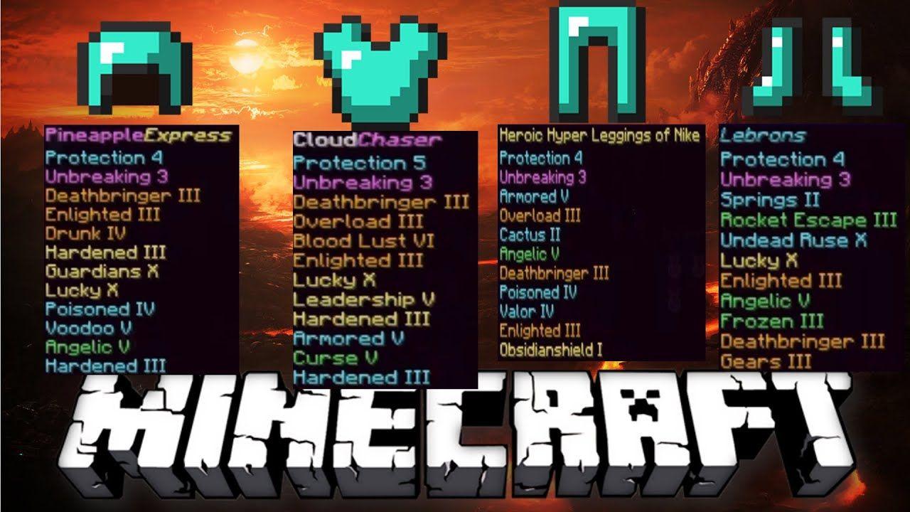 Minecraft Custom Enchantments List