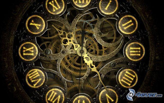 Reloj Engranajes Reloj Estilo Steampunk Fondo De Pantalla Steampunk Arte Steampunk
