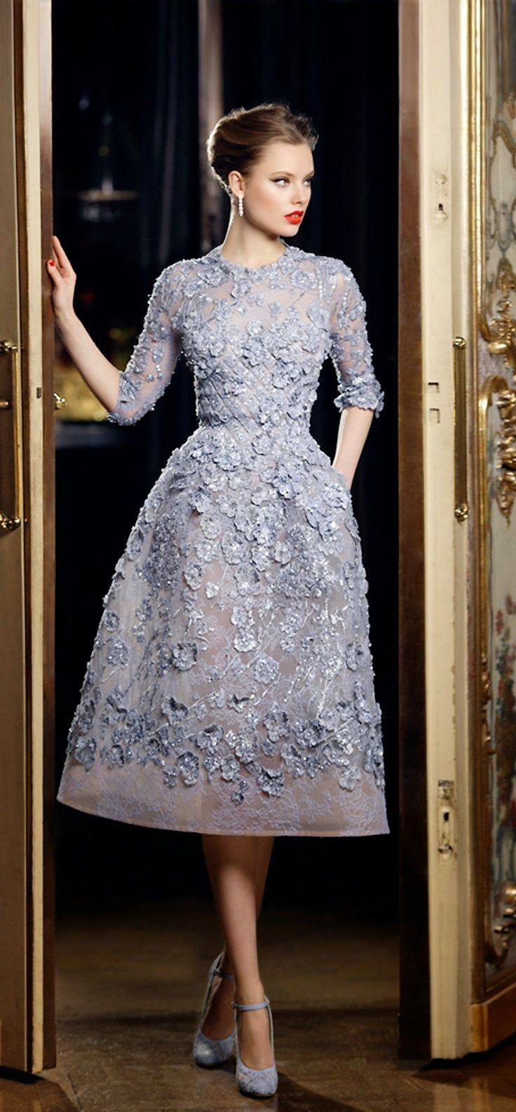 Batik dress for wedding party  Minimal Street Glamour Haute Couture Luxury Fashion Chic