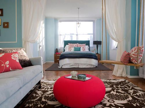 Studio Apartment Separation nice way to create separation in a room | a girl can dream