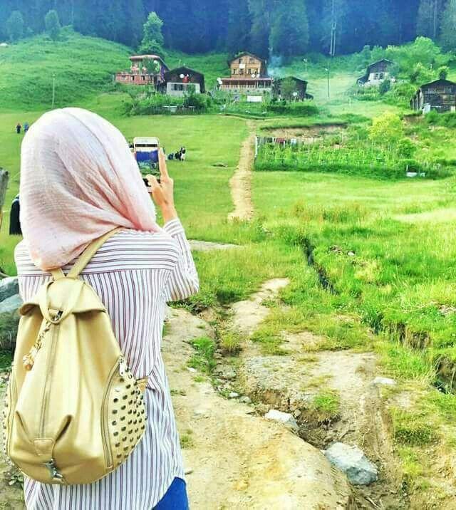Nature Capture Muslim Girls Girl Hijab Hijabi Girl