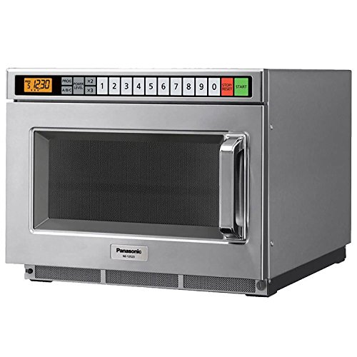Panasonic 0 6 Cu Ft 1200 Watt Touchpad Control Commercial Microwave Lot Of 1 This Panasonic Ne12523 Is A Commercial Microwa In 2020 Microwave Oven Microwave Oven