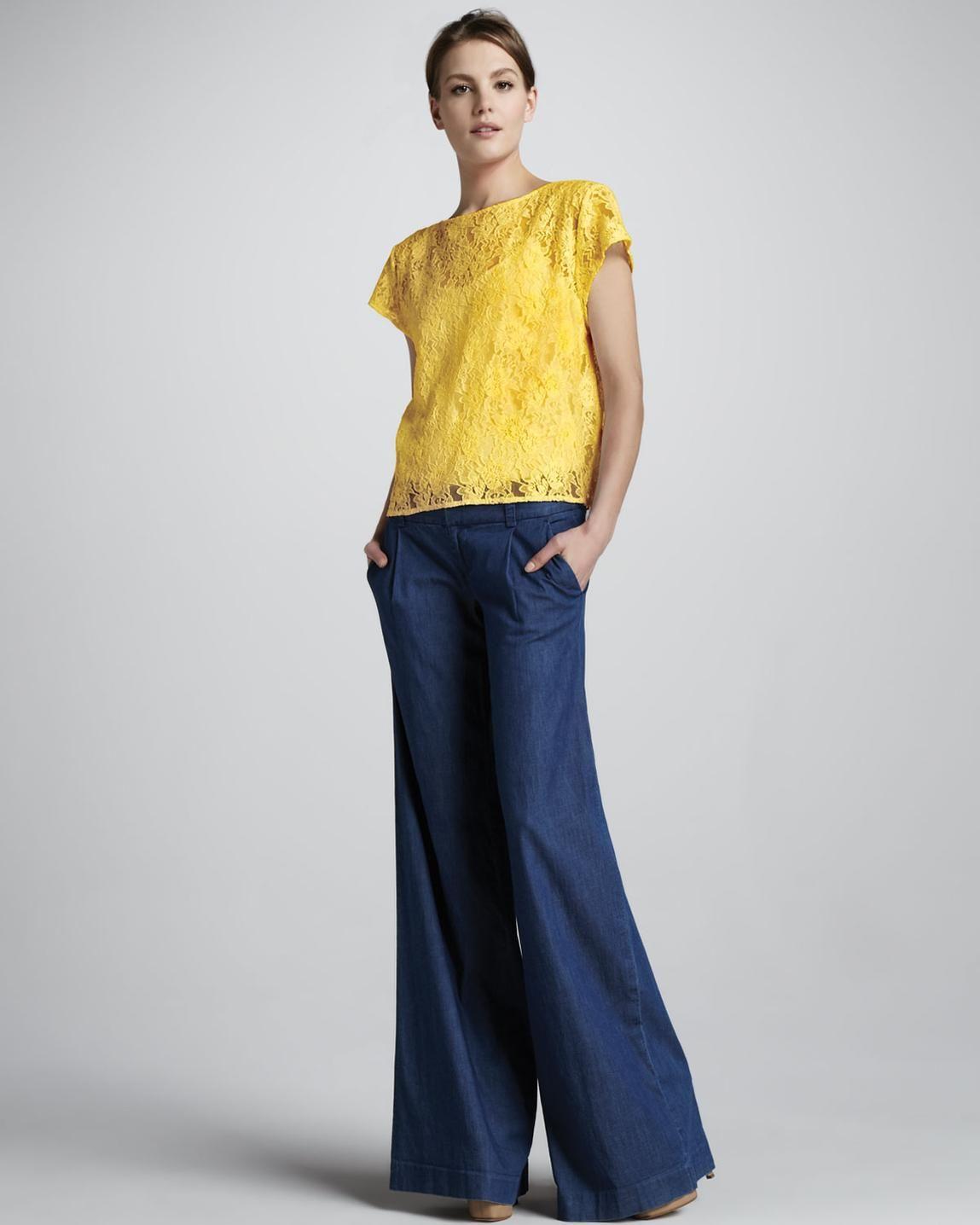 pantalon palazzo fiesta - Buscar con Google | gloria lula ...