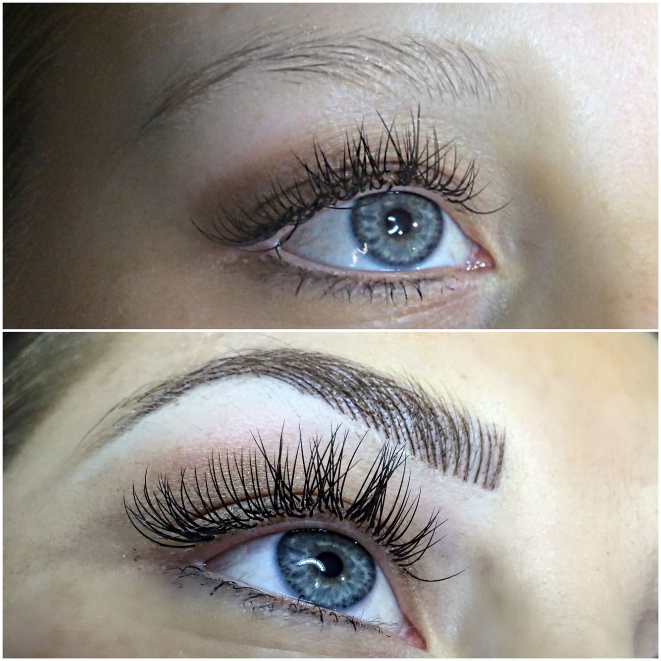 Microblading Hair stroke Feather touch Eyebrow tattooing if ever I ...