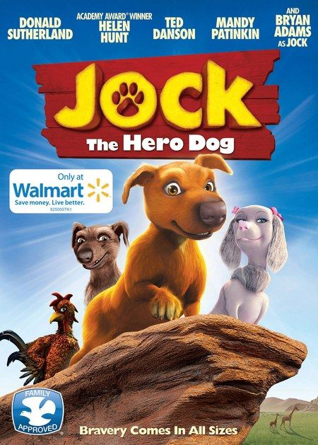 Jock the Hero Dog DVD Poster - This enchanting animated family adventure will hit VOD on June 19th before arriving on DVD July 24th.