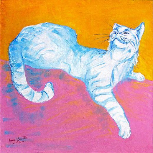 """That darn cat"" - Artist Anna Baryła"