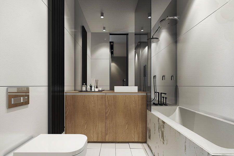 Come Arredare Loft Piccoli Spazi Dal Design Moderno Bathroom