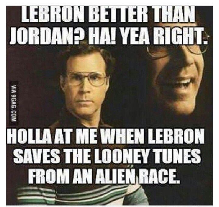 Lebron vs Jordan lol